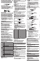 Sharp WRITEVIEW EL-W531H Instruction manual - Page 3