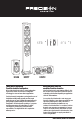 Precision Acoustics HD4M Owner's manual - Page 1