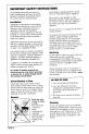 Maytag CWE4200ACB Manual - Page 3