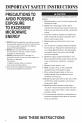 Maytag UMC5200BCW Manual - Page 4