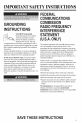 Maytag UMC5200BCW Manual - Page 5