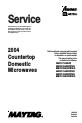 Maytag UMC1071AAB/W Service manual - Page 1