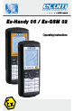 Ecom Instruments Ex-Handy 05 Operating instructions manual - Page 1