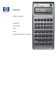 HP 17BIIPLUS Instruction manual - Page 1