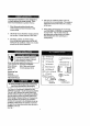 Danby DAC10003D Use and care manual - Page 5
