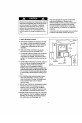 Danby DAC10003D Use and care manual - Page 6
