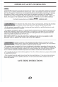 Danby DDR50A1GP Owner's use and care manual - Page 4
