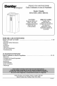 Danby DESIGNER DPAC1011BL Owner's use and care manual - Page 1