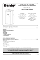 Danby DPAC10010 Owner's use and care manual - Page 1