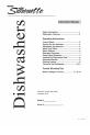 Danby DDW2405W Instruction manual - Page 1