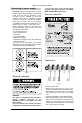 Danby DCD5505W Owner's manual - Page 8