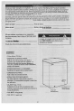 Danby DCF401W Owner's manual - Page 8