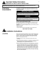 Danby DCF401W1 Owner's use and care manual - Page 4