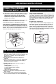 Danby DPC6012BLS Owner's use and care manual - Page 8
