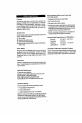 Danby DWC440BL Owner's manual - Page 4