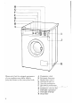 Zanussi WDJ 1013/A Instructions for use and care manual - Page 6
