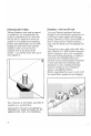 Zanussi WDJ 1013/A Instructions for use and care manual - Page 8