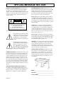 Yamaha CVP-83S Owner's manual - Page 2