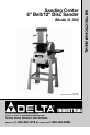 Delta (Model 31-300) Instruction manual - Page 1