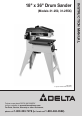 Delta 31-250 Instruction manual - Page 1