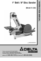 Delta 31-340 Instruction manual - Page 1