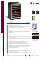 U-Line 2275ZWC Features and specifications - Page 1