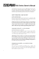 EAW DSA230i Owner's manual - Page 2