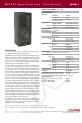 EAW MK2364 Specification sheet - Page 1
