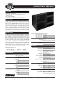 EAW MQV2364e Specifications - Page 1