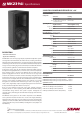 EAW MK2396i Specifications - Page 1