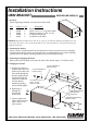 EAW UB82e Installation instructions - Page 1