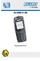 Ecom Instruments Ex-GSM 01 EU Operating instructions manual - Page 1