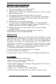 Vector VEC146 Owner's manual & warranty - Page 2