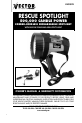 Vector VEC37R Owner's manual & warranty - Page 1