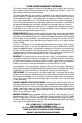 Vector VEC37R Owner's manual & warranty - Page 7