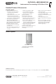 Viking VUWC144T Specification sheet - Page 1