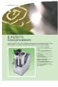 Electrolux Dito TRS 45 Brochure & specs - Page 6