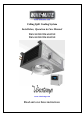 Vinotemp WM-2500SSD Installation, operation & care manual - Page 1