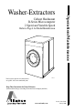 Alliance Laundry Systems HC60BNF Operation & maintenance manual - Page 1