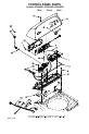 Whirlpool Cabrio WTW6600SB1 Parts list - Page 3