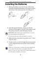 Targus Ultra-Mini Wireless Optical Mouse Presenter Operation & user's manual - Page 6