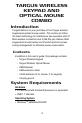 Targus PAKP003U Operation & user's manual - Page 2