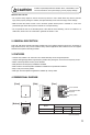 Toa HS-1200BT Operating instructions manual - Page 3