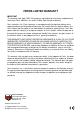 Ferris Hydrowalk Series DDSKAV15CE Operator's manual - Page 2