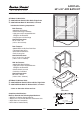 American Standard Right Drain 6030Y2AK.202 Specification sheet - Page 1