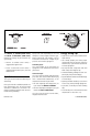 Frigidaire FDEB34RG Operating instructions - Page 2