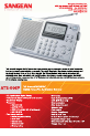 Sangean ATS-505 Specification sheet - Page 1