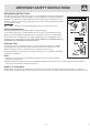 Frigidaire PLMBZ209GC - 2.0 cu. Ft. Microwave Oven Use & care manual - Page 5