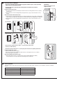 Schlage P516-485 Installation instructions manual - Page 3