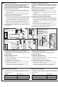 Schlage P516-485 Installation instructions manual - Page 7